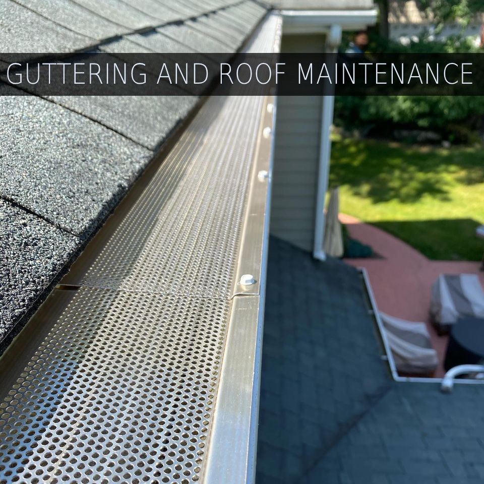 guttering and roof maintenance